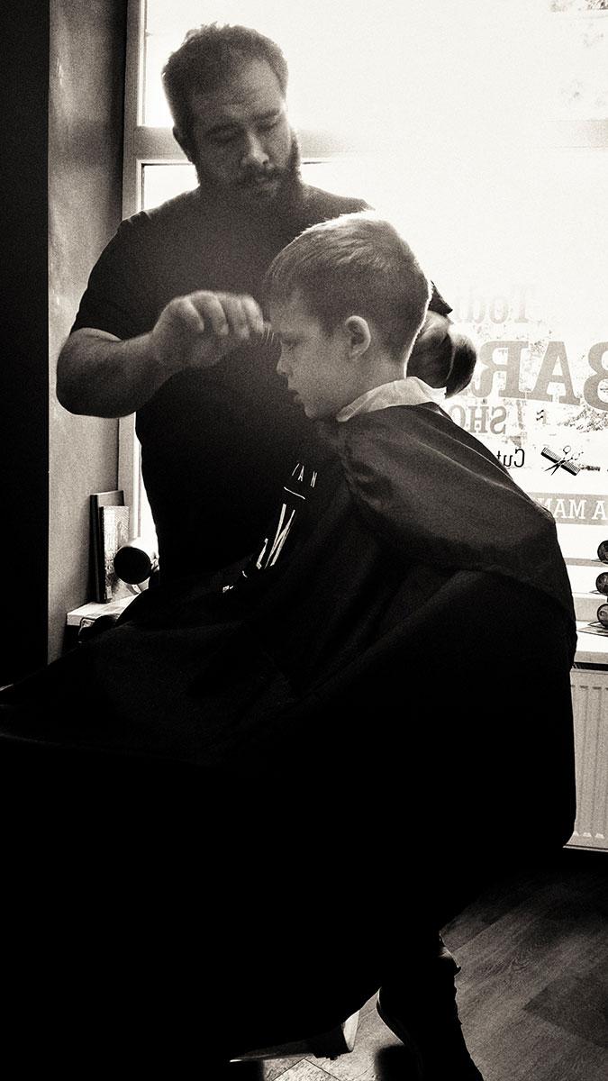 Kids Haircut - Todi's Barbershop Berlin